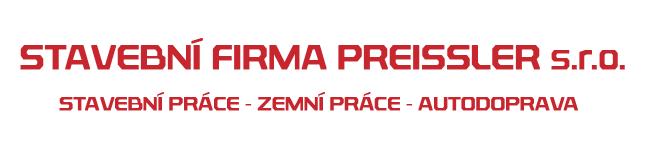 logo - Stavební firma Preissler s.r.o.